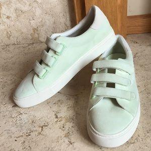 Tory Burch Triple Strap Suede Sneaker *NWOB*